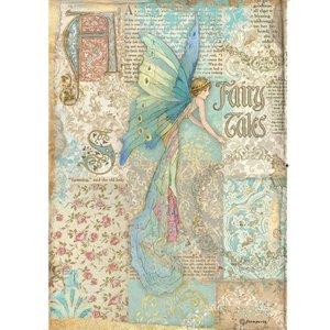 Papel de arroz A4 Stampería Sleeping Beauty Fairy Tales