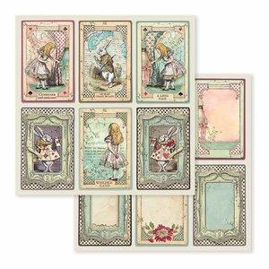 """Papel 12x12"""" Stampería Alice Cards"""