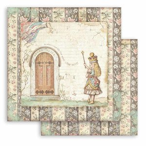 """Papel 12x12"""" Stampería Alice Door"""