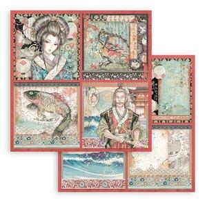 """Papel 12x12"""" Stampería Sir Vagabond in Japan Cards"""
