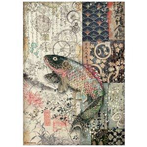 Papel de arroz A4 Sir Vagabond in Japan Mechanical Fish