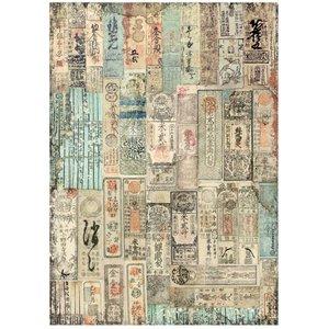 Papel de arroz A4 Sir Vagabond in Japan Oriental Texture