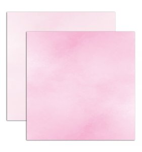 "Papel 12""x12"" Watercolor Pink"