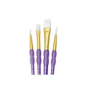 Pinceles R&L White Taklon 4 pk Variety Set nº 223