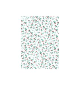 Papel White Flowers PaperPatch