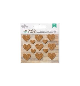Pegatinas de corcho DIY Shop Hearts