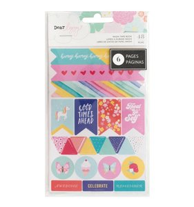 Libreto tiras washi tape Stay Colorful