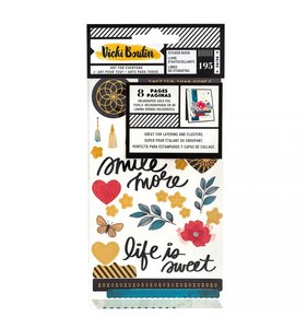 Libreto de pegatinas Vicki Boutin Wildflower & Honey