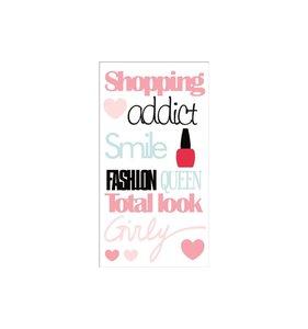 Pegatinas epoxy Fashionista Shop Adict