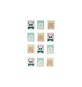 Pegatinas de madera Stamps Adorable