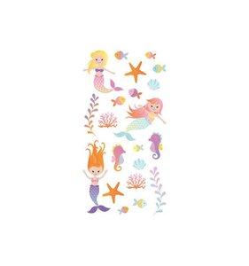 Pegatinas puffy Mermaid