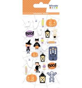 Pegatinas puffy Artemio Halloween Boo