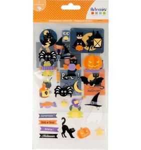 Pegatinas de chipboard Artemio Halloween