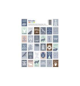 Set de pegatinas Woodland Stamps