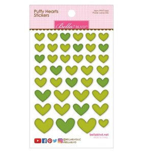 Pegatinas Puffy Bella Hearts Juice