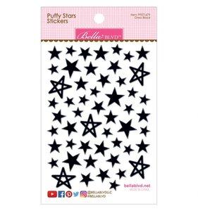 Pegatinas Puffy Bella Stars Black