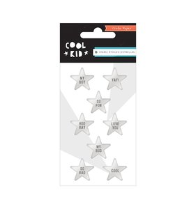 Estrellas de resina Cool Kid