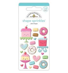 Pegatinas epoxy Cake Shoppe