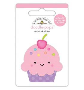 Doodle-Pops 3D Cute Cake