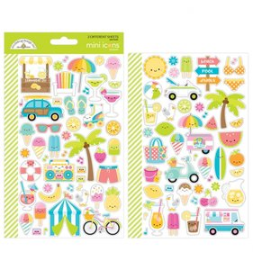 Pegatinas Sweet Summer Mini Icons