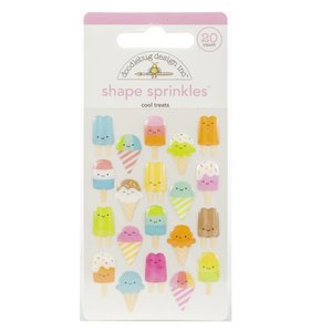 Enamel Shapes Cool Treats