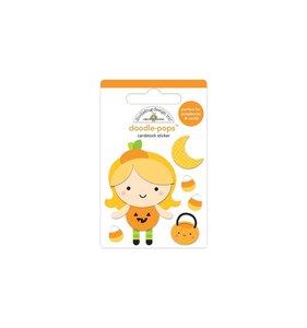 Doodle-Pops 3D Little Pumpkin