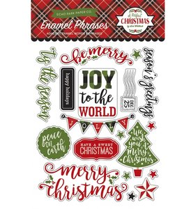 Enamel Frases A Perfect Christmas