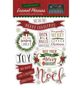 Enamel Frases Night Before Christmas