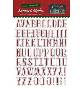 Enamel Alfabeto Night Before Christmas