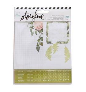 Kit pegatinas Storyline Botanical