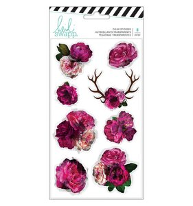 Pegatinas Floral Transparentes Hawthorne