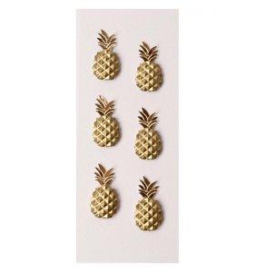 Mini Pegatinas 3D Pineapple