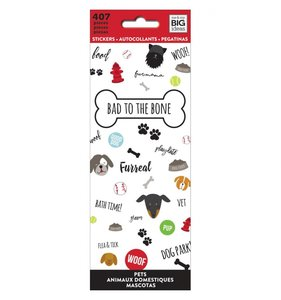 Libreto mini pegatinas Bad to the Bone