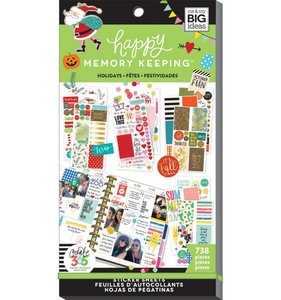 Pegatinas Holidays Happy Memory Keeping Value Pack