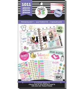 Pegatinas Pregnancy Value Pack Happy Planner