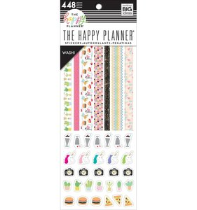 Libreto de pegatinas washi Super fun