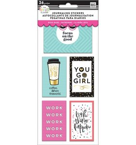 Pegatinas para Journaling Flip Happy Planner Boss Babe