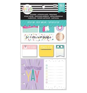 Pack de pegatinas y accesorios Happy Planner Super Fun
