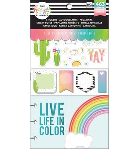 Pack de pegatinas y accesorios Happy Planner Brights