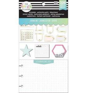 Pack de pegatinas y accesorios Happy Planner Journaling