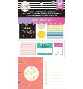 Pack de pegatinas y accesorios Happy Planner Household