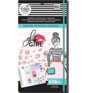 Libreto pegatinas y post its Glam Girl