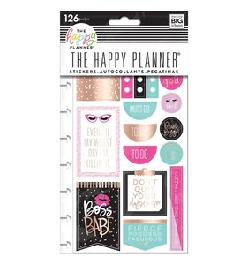 Pegatinas Happy Planner Boss Babe