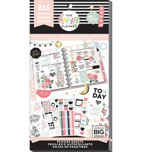 Pegatinas Simply Lovely Happy Planner Value Pack