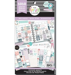 Pegatinas Wellness Happy Planner Value Pack