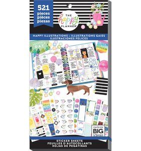 Pegatinas Happy Illustrations Happy Planner Value Pack