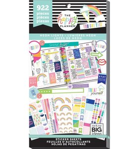 Pegatinas Neon Lights Happy Planner Value Pack