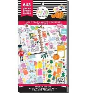 Pegatinas Happy Year Happy Planner Value Pack