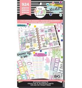 Pegatinas Highlight Boxes Happy Planner Value Pack