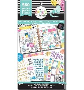 Pegatinas Pastel Tropics Happy Planner Value Pack
